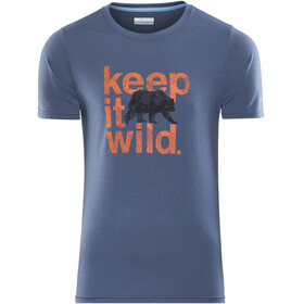 Columbia M's Miller Valley SS Tee carbon